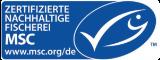 Zertifizierte nachhaltige Fischerei MSC