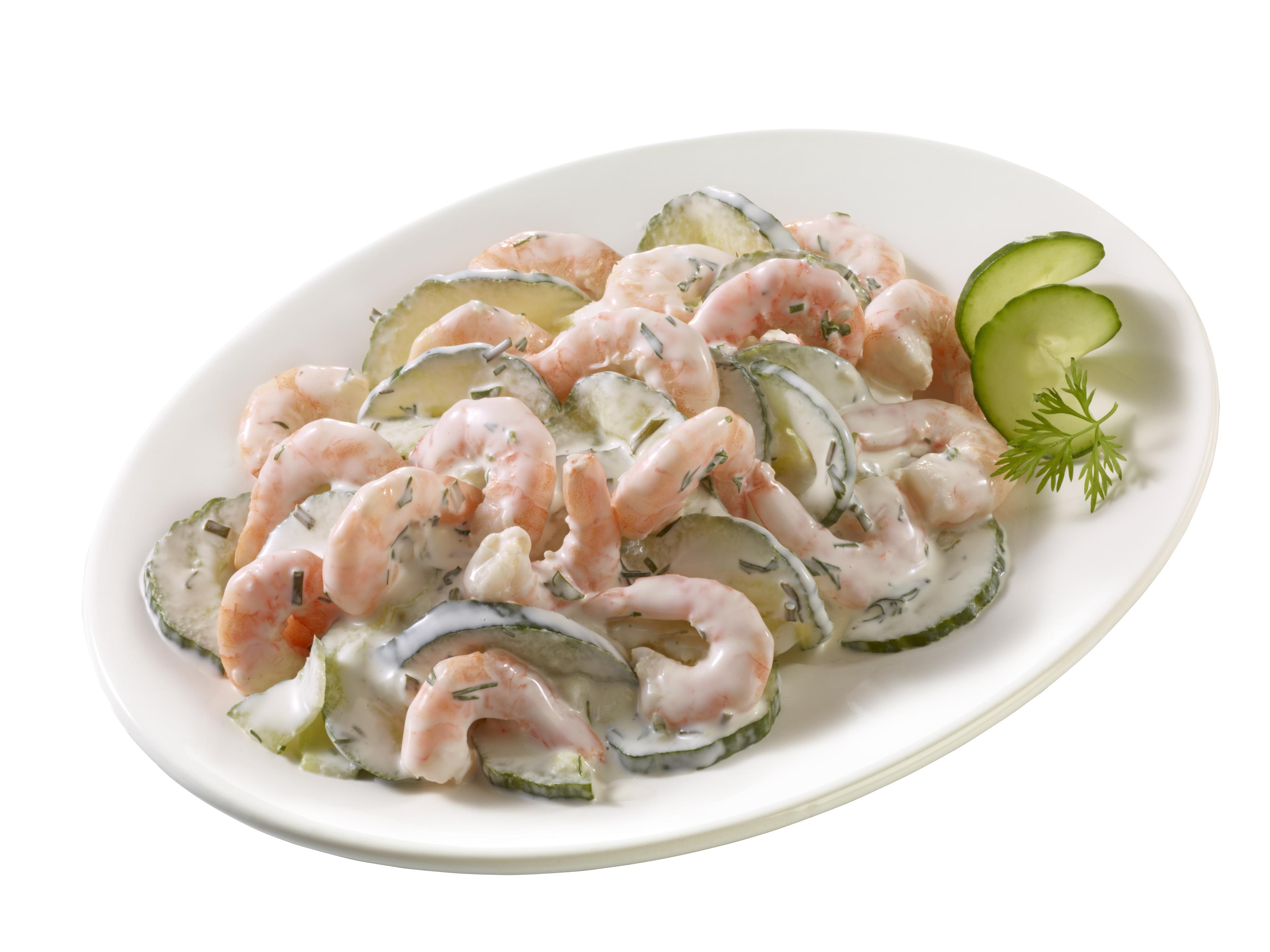 """Garnelen-Salat """"Island"""""""