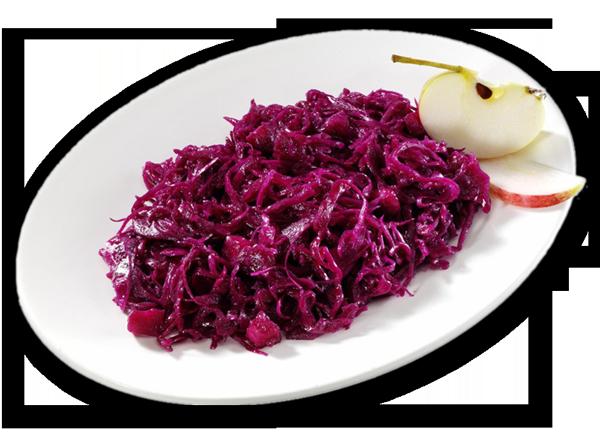 Apfel-Rotkraut-Salat