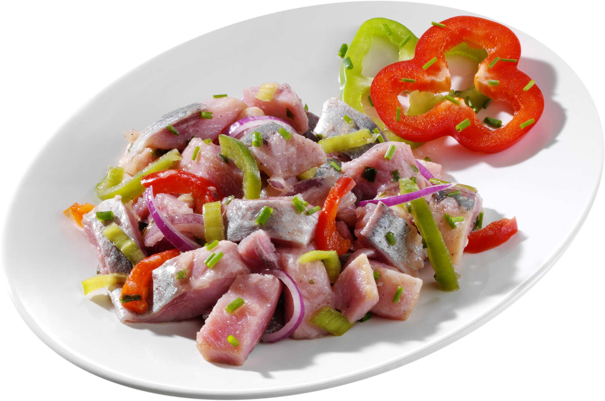 Bunter Matjes-Salat