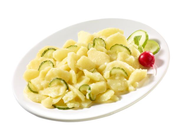 Original Bayerischer Kartoffel-Salat mit Gurke
