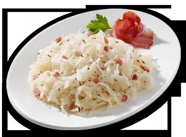 Bayerischer Kraut-Salat mit Speck