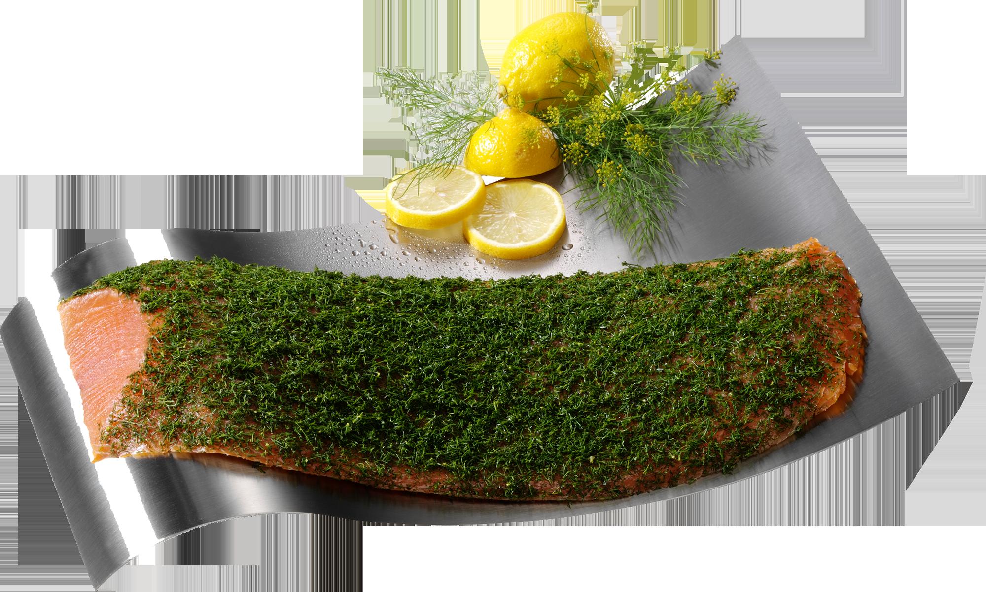 Geschenkset Graved Lachs mit delikater Dillnote