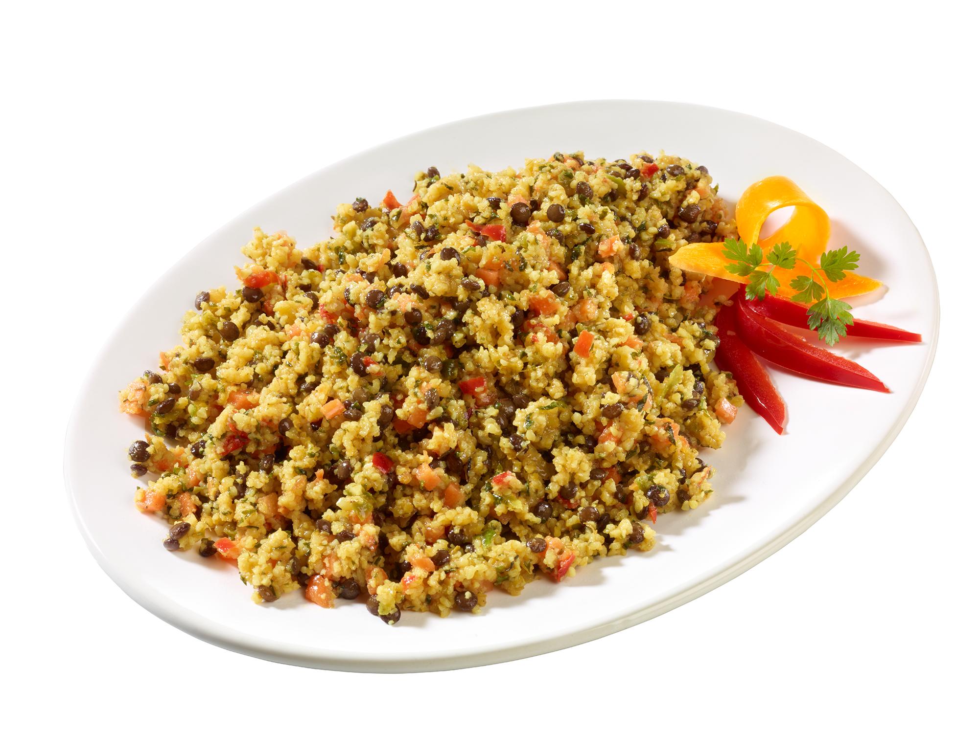 Bulgur-Linsen-Salat