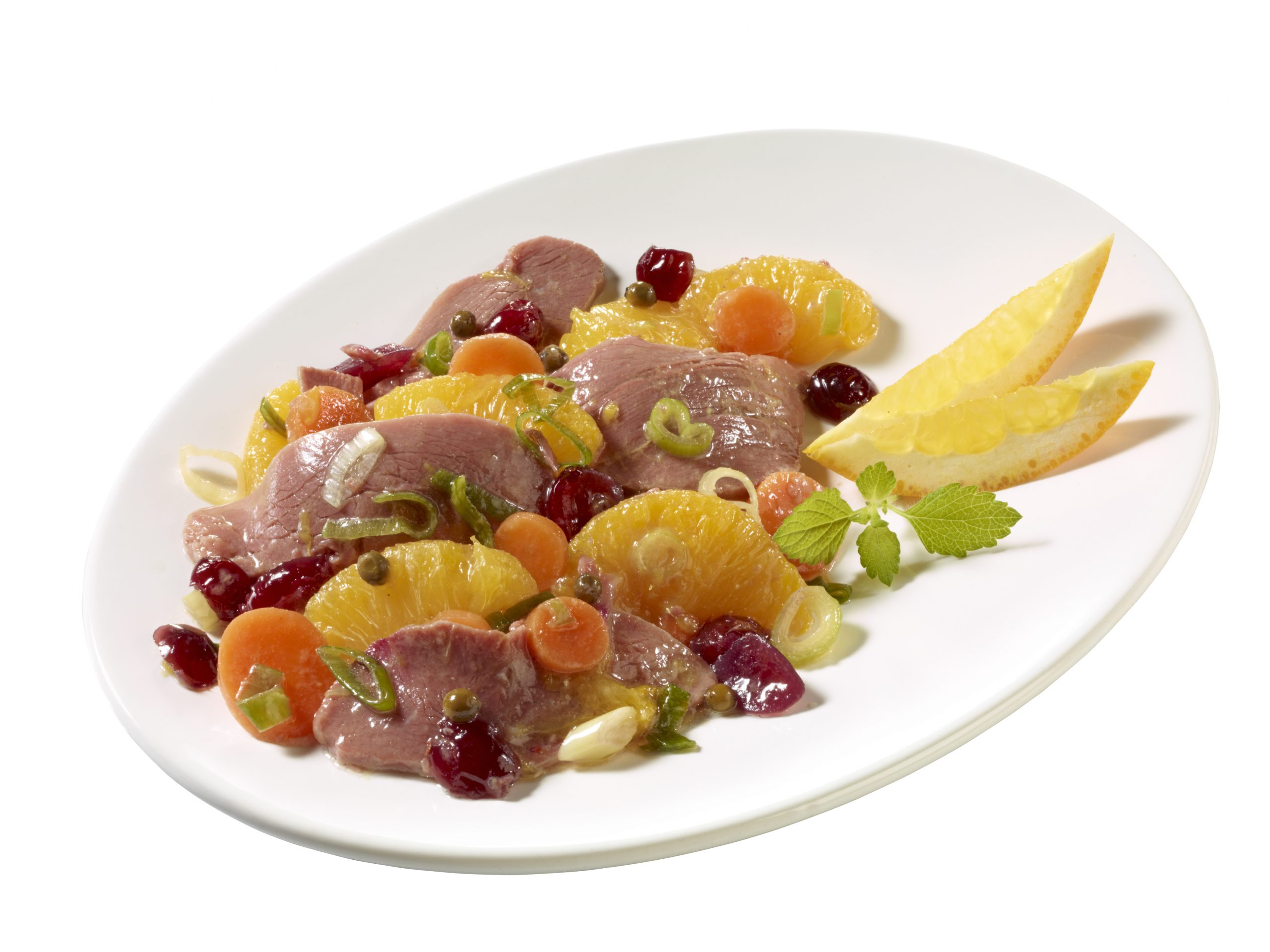 Entenbrust-Salat