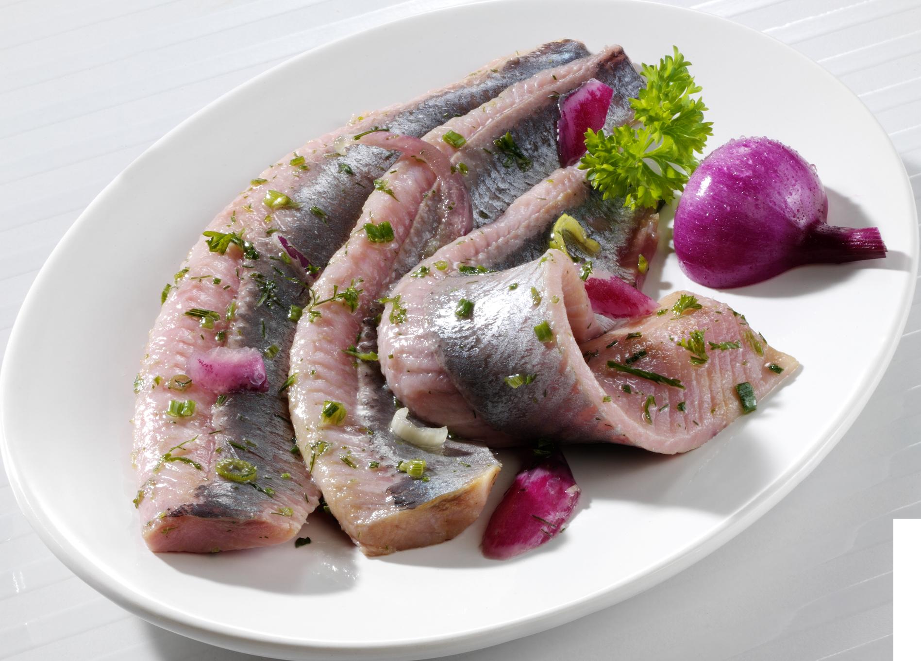 Kräuter-Matjes-Filets