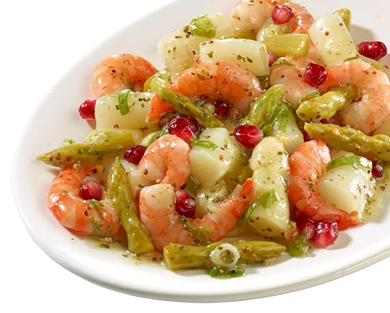 Spargel-Garnelen-Salat von Dahlhoff