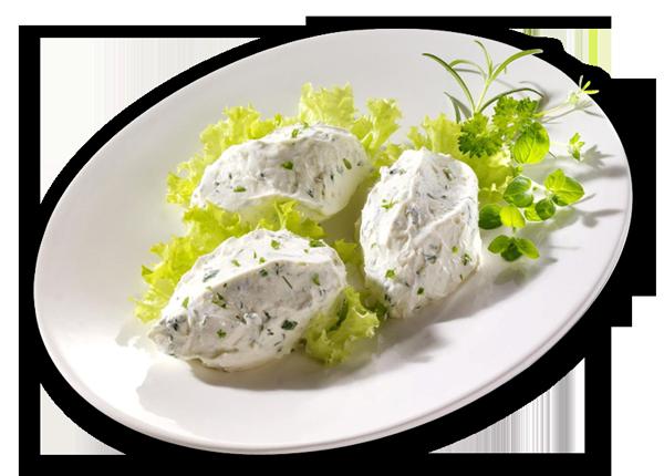 Kräuter-Frischkäsecreme